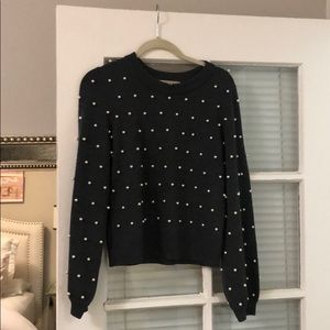 Milly Pearl Sweater Small